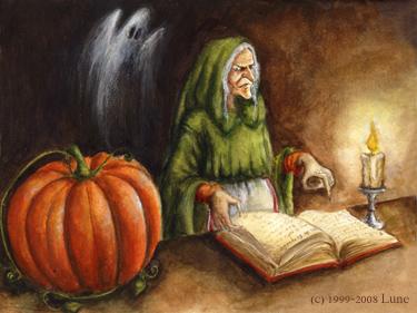 Halloween par Lune