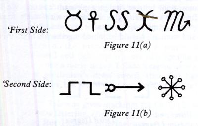 Athamé symboles